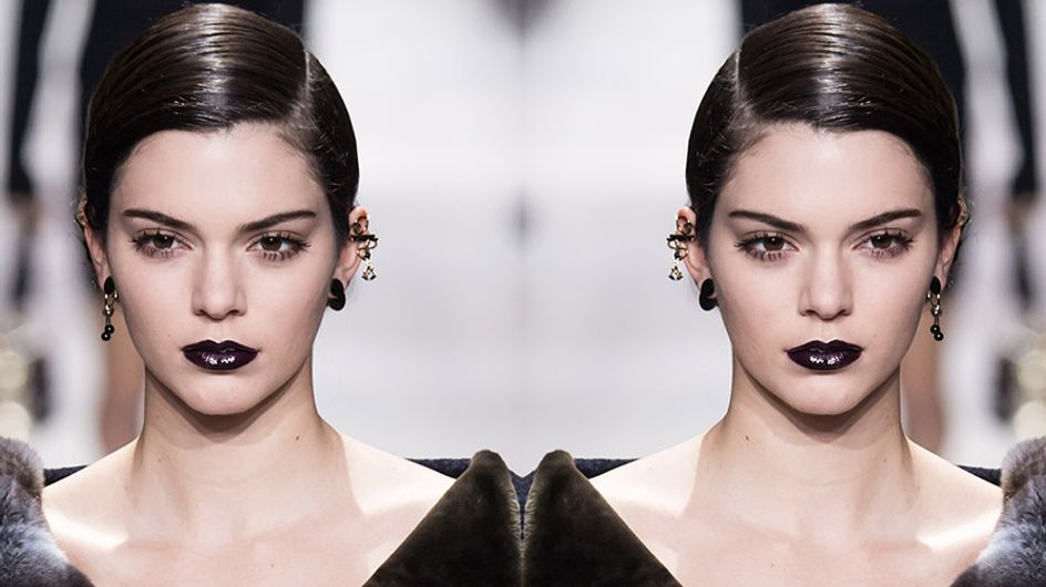 Black Lipstick Is Trending Because It's Fly As Hell