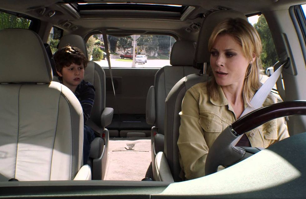 Ces galères qui arrivent toujours en voiture avec un enfant
