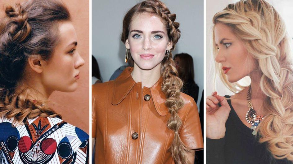 Morbida, paffuta e trendy: ecco la treccia pancake, l'hairstyle glam-chic amatissimo dalle trendsetter di tutto il mondo