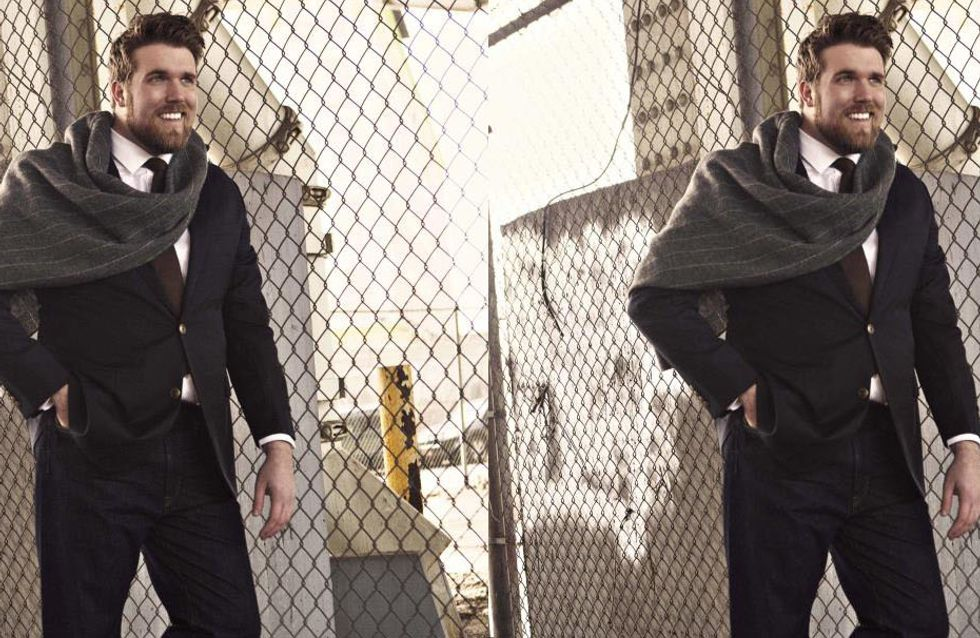 Zach Miko Named First Plus-Sized Male Model For Agency IMG