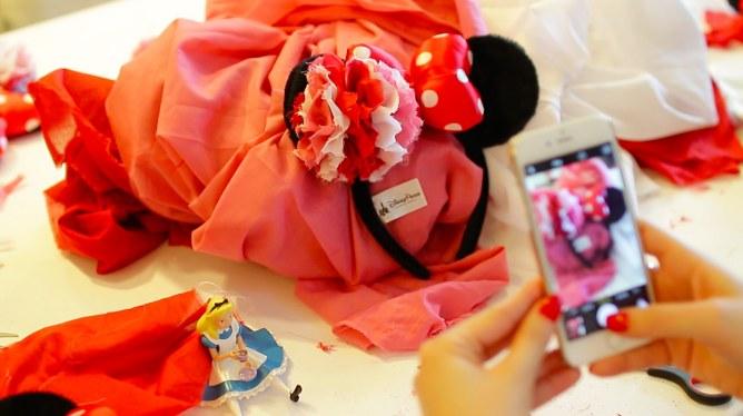 Les oreilles Minnie customisées par You Make Fashion