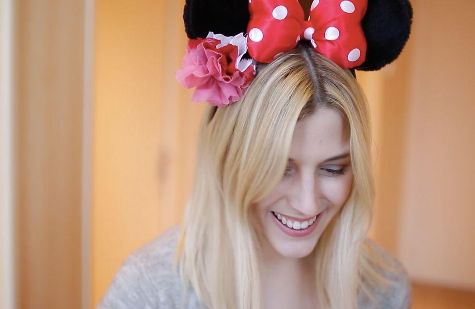 Qui veut des oreilles de Minnie customisées par You Make Fashion ? (Vidéo)