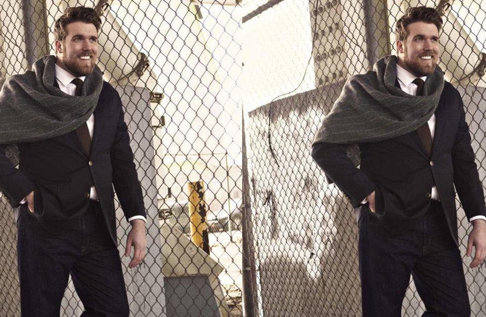 Zach Miko é o primeiro modelo masculino Plus-Size da agência IMG