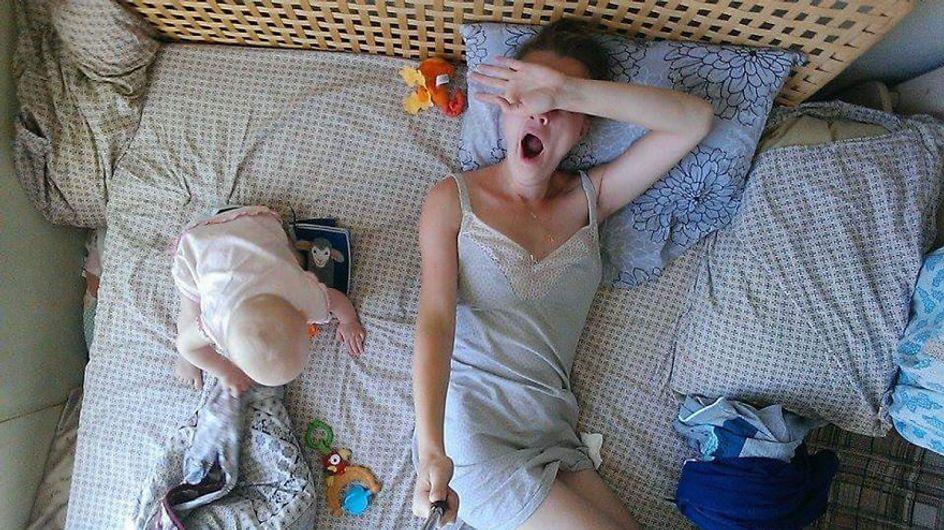El día a día de una mamá documentado a través de un palo selfie