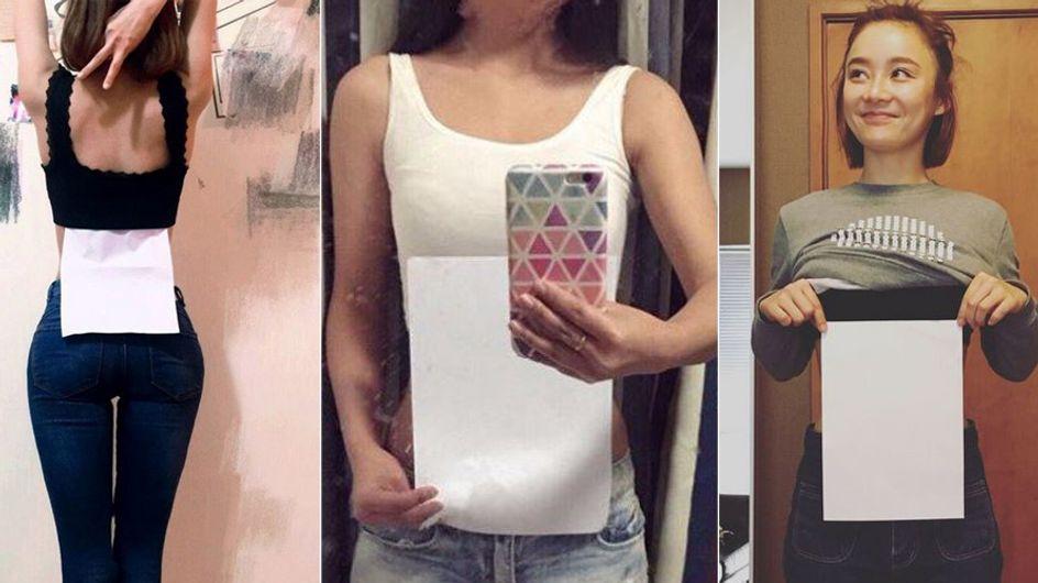 So dünn wie Papier: Das ist der neue gefährliche Körper-Trend im Netz