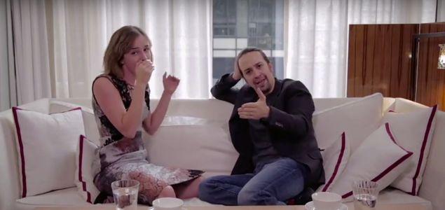 Emma Watson et Lin-Manuel Miranda