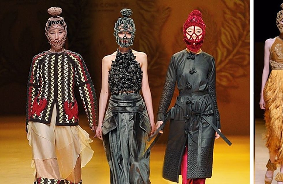 Maschere all'uncinetto: il trend più bizzarro al mondo