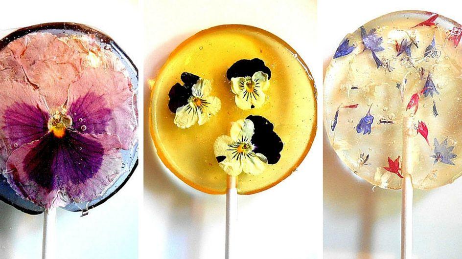 Lecca lecca petalosi: l'idea floreale per assaporare la primavera!