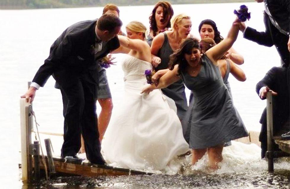 Horteras, extrañas y embarazosas: las 25 peores fotos de bodas-desastre para olvidar