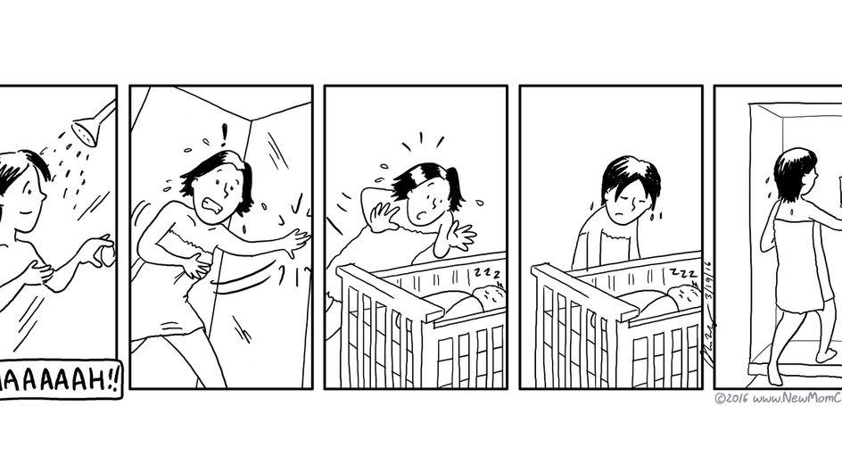 20 cómics que cuentan a la perfección el primer año de una madre primeriza