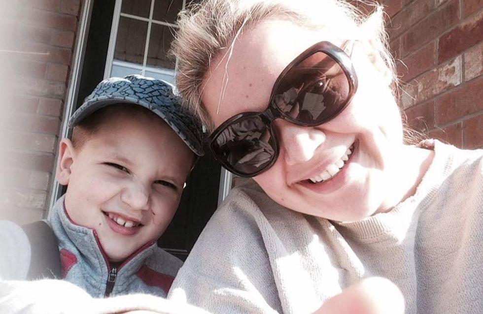 Eine Einladung zum Kindergeburtstag rührt diese Mutter eines autistischen Jungen zu Tränen
