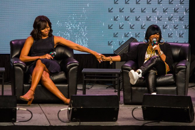 Michelle Obama et Missy Elliott