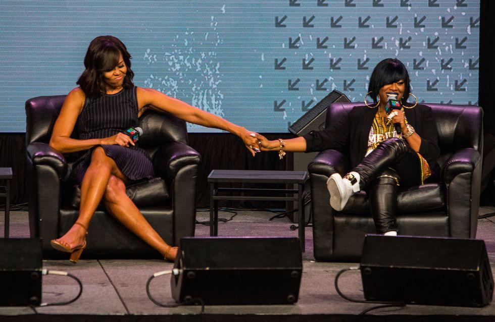 Michelle Obama sort un single avec Missy Elliott et Kelly Rowland