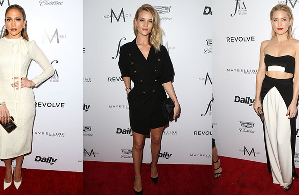 All The Outfit Goals From This Year's Daily Front Row Fashion Los Angeles Awards