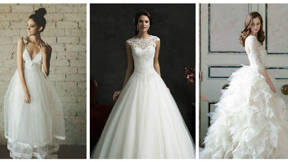 10 robes pour un mariage de princesse (Vidéo)