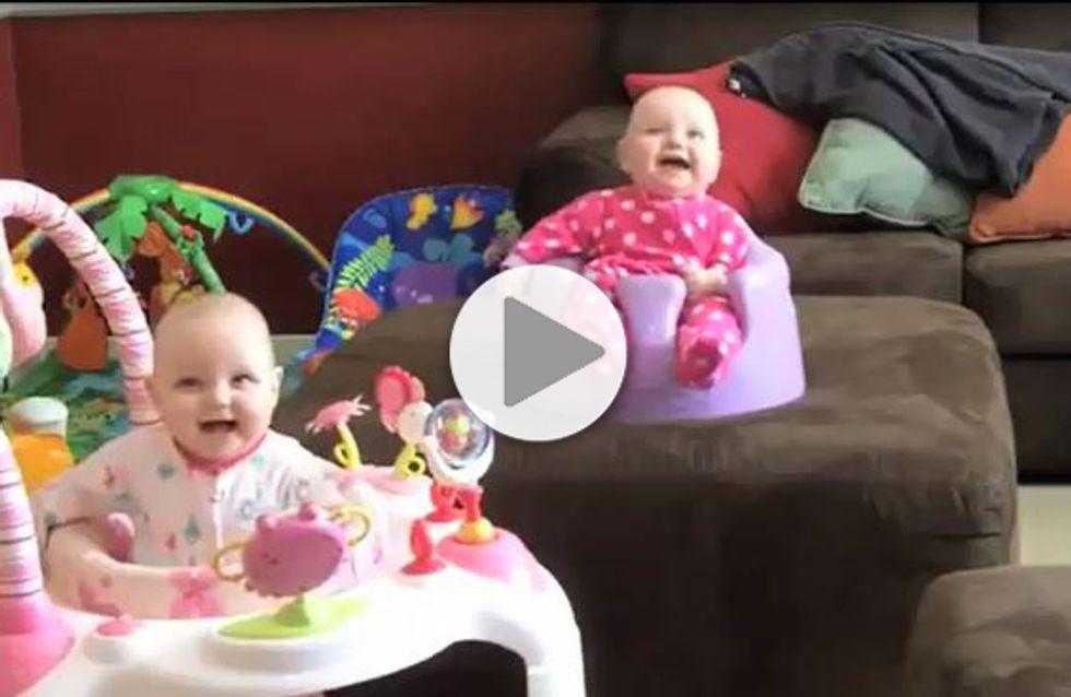 Quoi de plus contagieux que le rire d'un bébé ? (Vidéo)