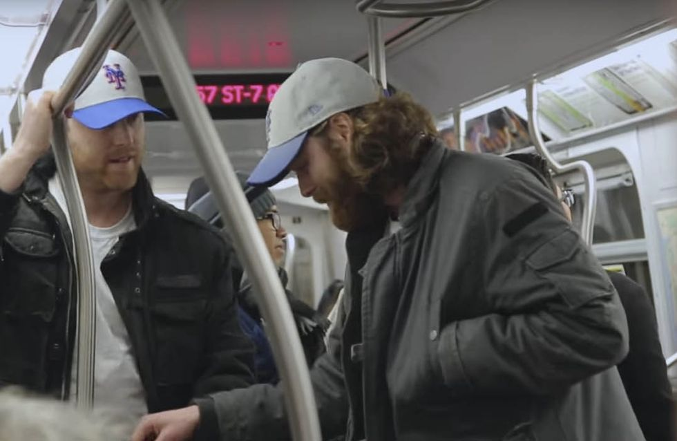 This Elaborate Subway Prank Involving Four Sets Of Twins Will Make Your Day