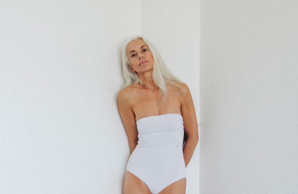 A 60 ans, elle pose pour une campagne de maillots de bain