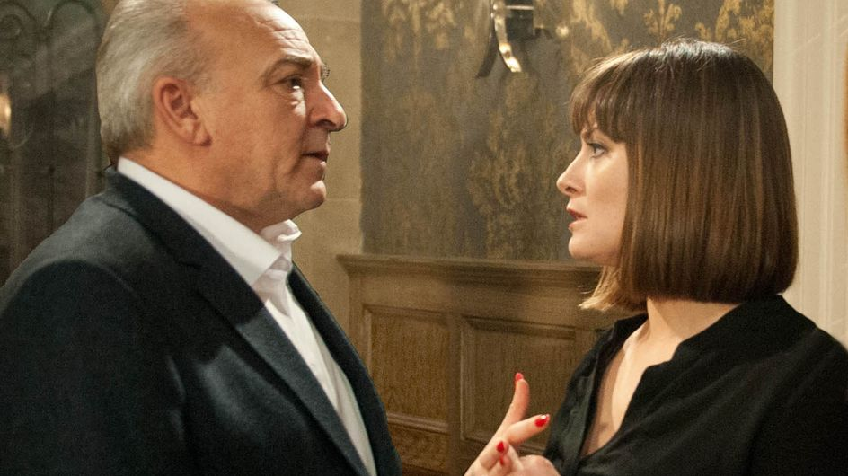 Emmerdale 07/4 - Chrissie confronts her father Lawrence