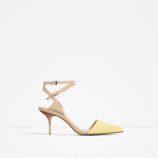 Sandales Zara - 49,95 euros