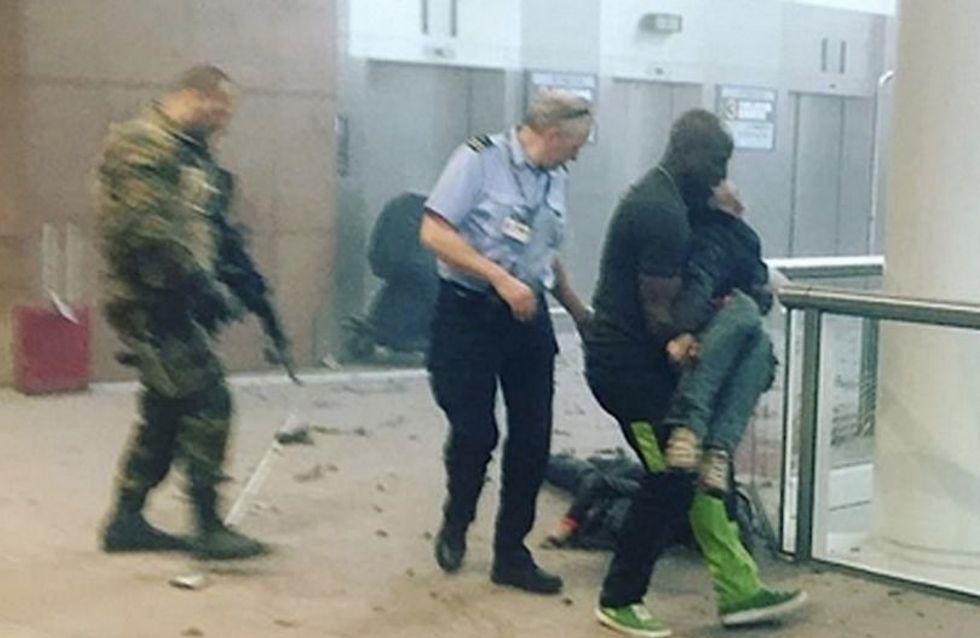 Alphonse Youla, le héros de l'aéroport de Bruxelles (Photos)