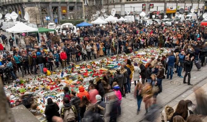 Hommages à Bruxelles