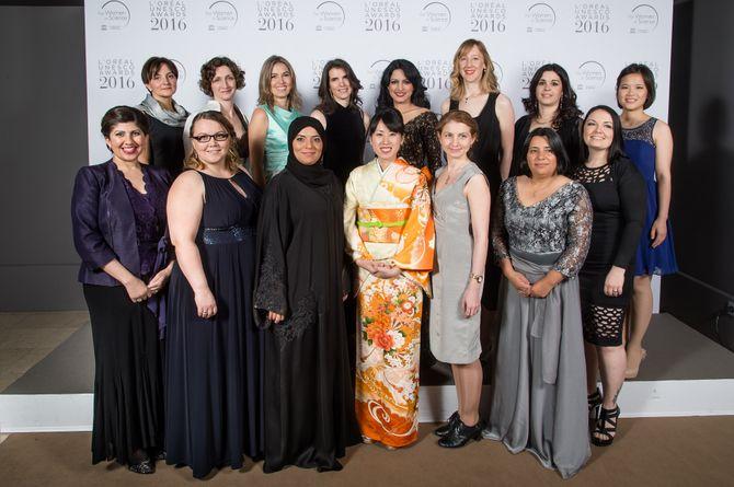 Les 15 rising talents récompensés par la Fondation L'Oréal et l'UNESCO