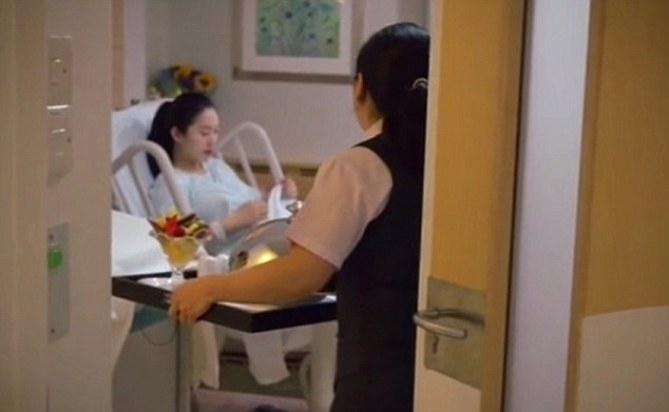 Les futures mamans profitent d'une suite luxueuse