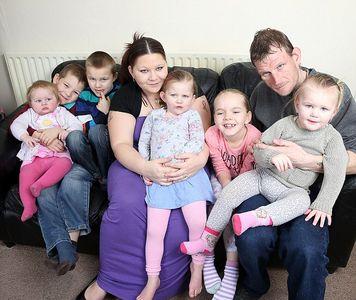 Shannon Carter, 23 ans, et sa famille
