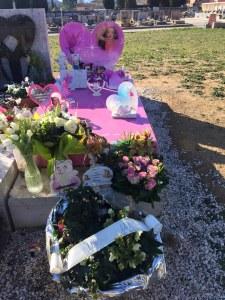 La tomba della piccola Lea
