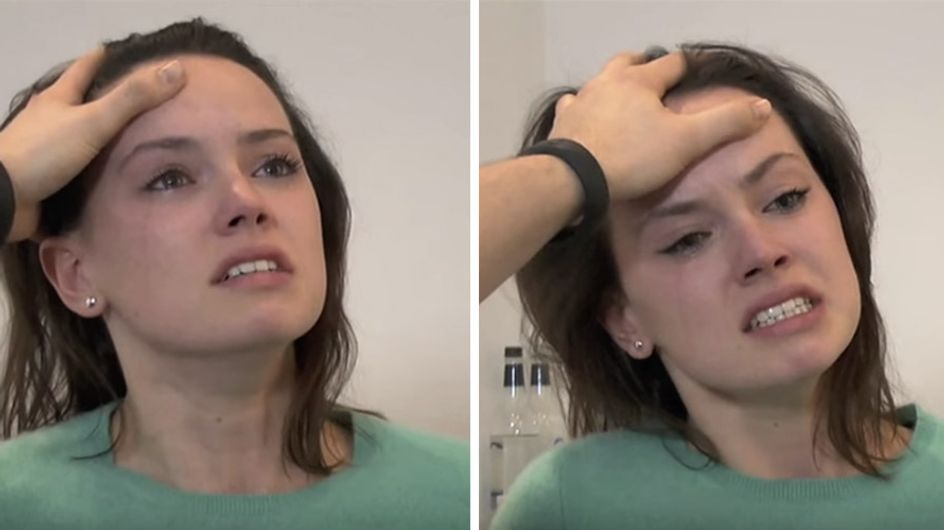 Daisy Ridley's 'Star Wars' Audition Tape Shows How She Acted Her A** Off To Land The Role Of Rey