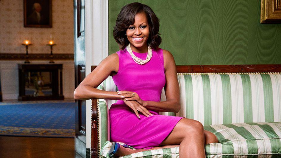 Consigue el look de Michelle Obama