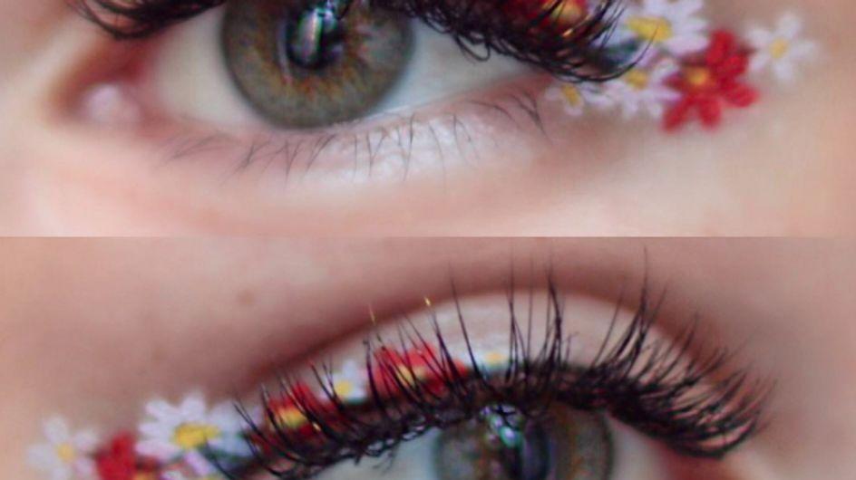 Eyeliner a fiori: il trend make-up più glam della primavera estate!