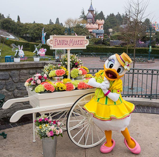 Le marché aux fleurs à Disneyland Paris®