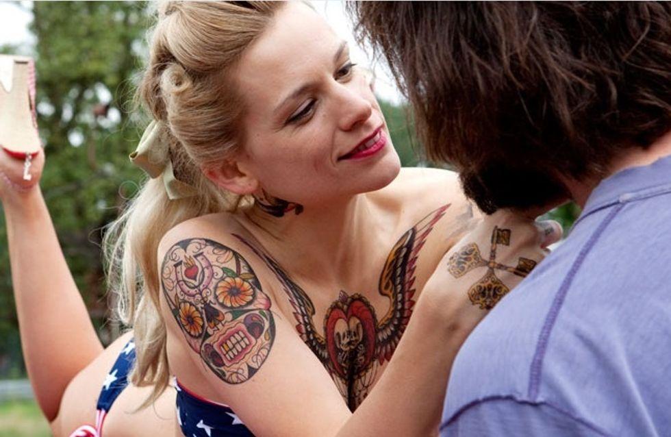 Les filles tatouées sont les meilleures, la preuve