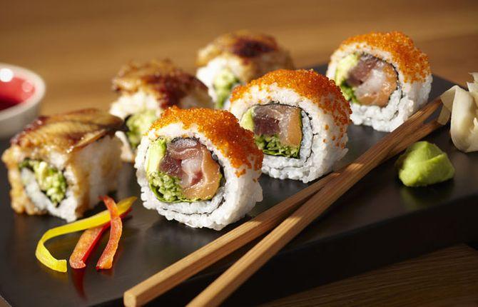 Roher Fisch: Sushi & Sashimi