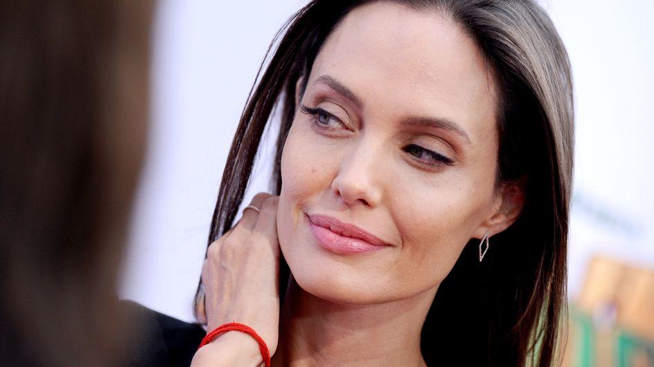 Angelina Jolie, ingresada por su extrema delgadez