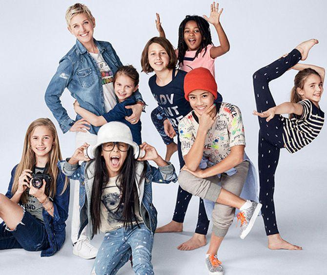 Collection Ellen DeGeneres x Gap Kids