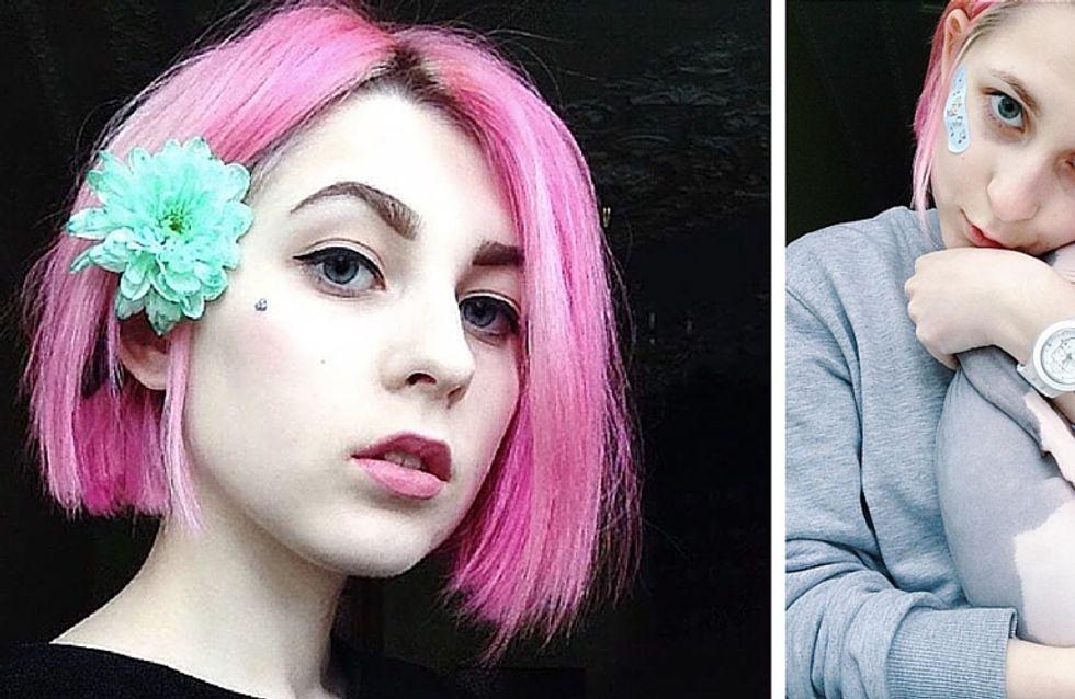 Questa ragazza si taglia i capelli e... Instagram impazzisce!