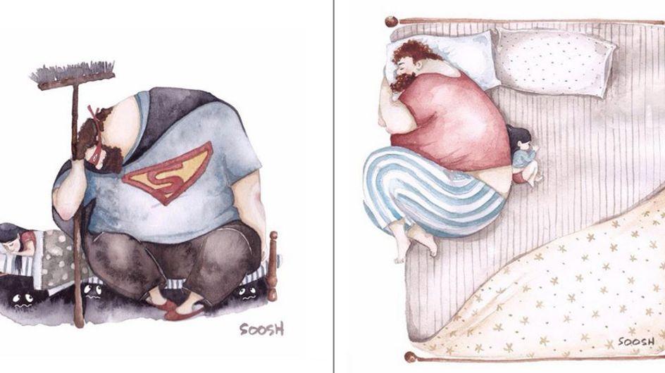 Papa und seine kleine Prinzessin: Diese Bilder zeigen die innige Beziehung zwischen Vater & Tochter