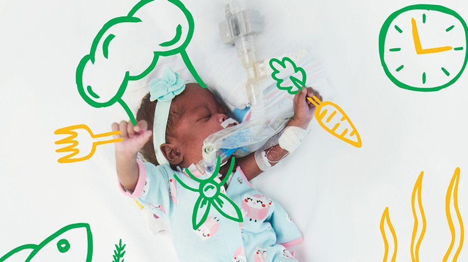 ¡Toda una lección de vida! La enfermera que dibuja los sueños de los bebés prematuros más vulnerables