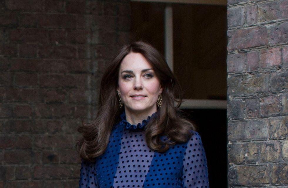 Kate Middleton ose une robe transparente (Photos)