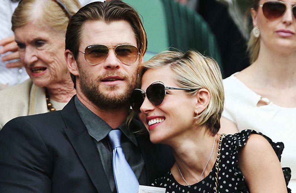 É oficial: Chris Hemsworth é o papai celebridade mais doce (e gato) que existe