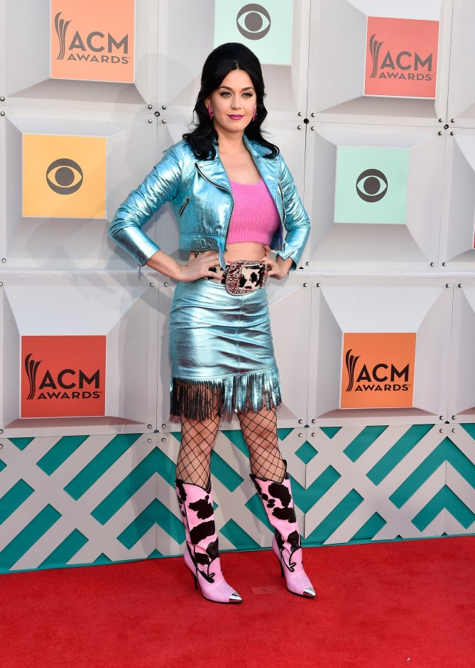 Katy Perry aux Country Music Awards 2016 à Las Vegas
