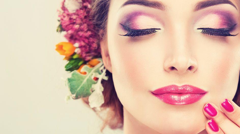 Eyeliner de flores: la tendencia más glam de la primavera