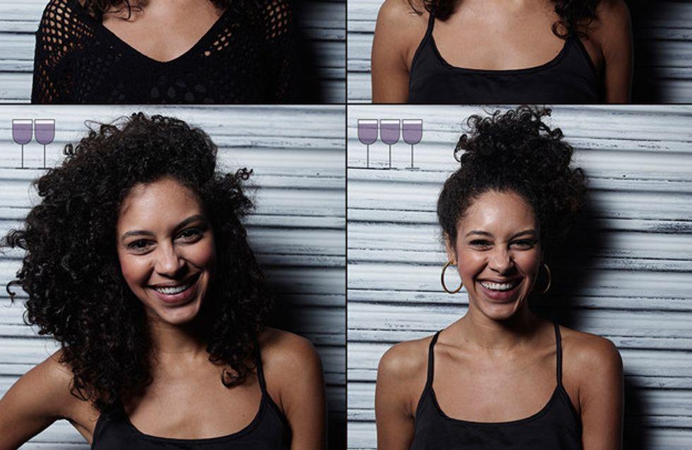 ¿Cómo cambia nuestra cara cuando bebemos vino? Esta serie de fotos nos lo enseña