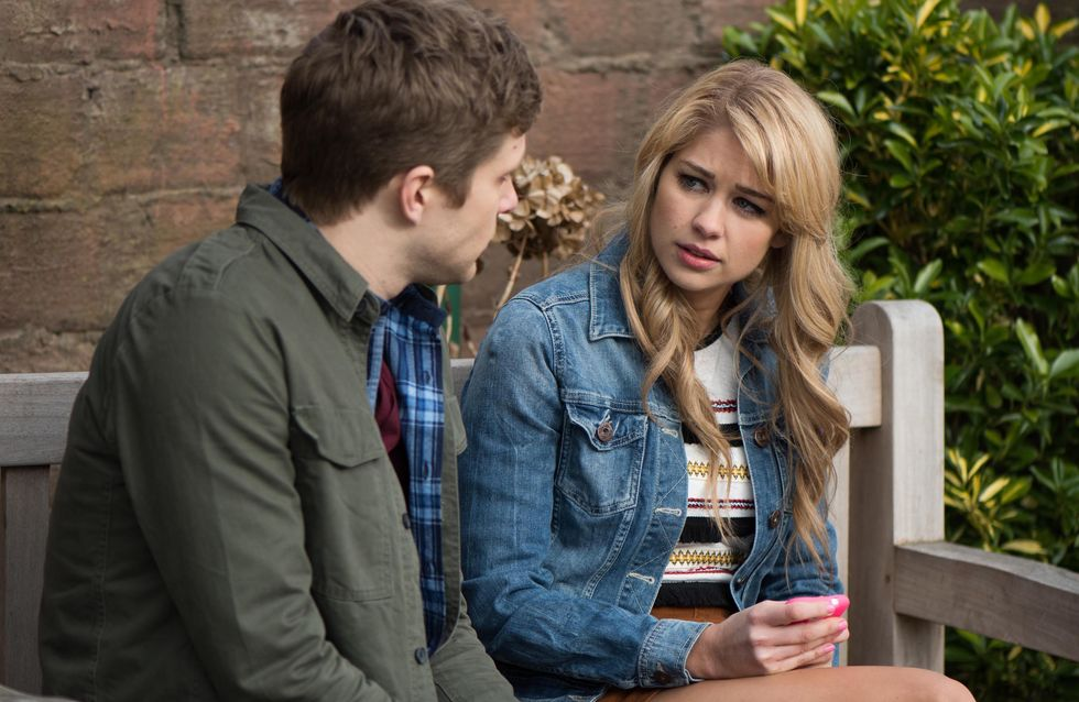 Hollyoaks 20/4 - Lindsey tells Kim to meet her with money