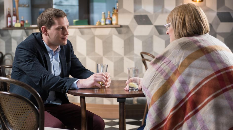 Hollyoaks 22/4 -Tony watches helplessly as suppliers take his stock away