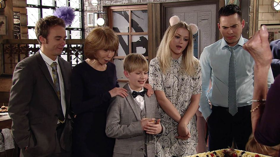 Coronation Street 18/04 - It's a baptism of fire for baby Harry