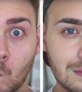 Il prouve que le maquillage n'est pas réservé aux femmes